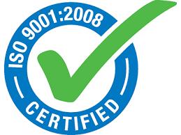 ΠΙΣΤΟΠΟΙΗΣΗ ΚΑΤΑ ISO9001:2008